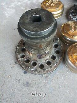 Roadster Roadstar Wire Wheels 13x7 72 Spoke Gold Knock Off