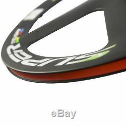 SUPERTEAM 5 Spoke Carbon Wheel Road Bike Carbon Wheelset Clincher Bicycle Wheel