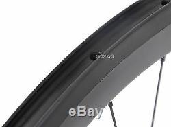 Sapim CX-Ray Carbon Clincher 56mm Wheel 700C U Road Bike Rim Front Rear UD Matt
