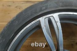 Set Front 20x9 Rear 20x10 ET34 Wheel Style #343 M Double Spoke BMW F10 5-Series