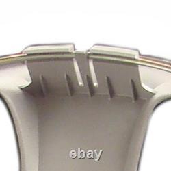 Set of (4) 15 Silver Hubcaps for Toyota Corolla 2005-2008, 5 Spoke, Heavy Duty