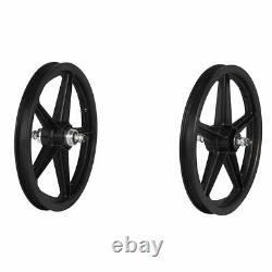 Skyway, Tuff II 16 5 Spoke Black, Wheel, Front and Rear, 16'' / 305, Bolt-on, F