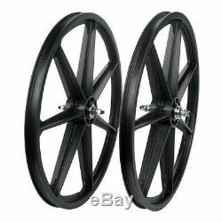 Skyway Tuff Retro 7 Spoke Wheel Front and Rear 24'' / 507 Bolt-on F 100 R 110