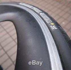 Specialized Carbon Trispoke Front + Rear Wheel Thread 700C 28 Alloy Brake Rim