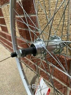 Sta-Tru Front & Rear Wheel Set 26 x 1.5-inch, 36 spoke, alloy! FREE SHIPPING