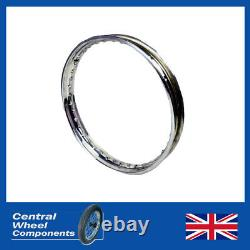 Suzuki Stainless Wheel Rim & Spokes Kit Front and Rear 19 & 18 (Set) Included