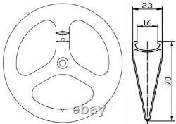 Track Bike Carbon Wheels Front Tri Spoke Rear 88mm Fixed Gear Carbon Wheelset 3K