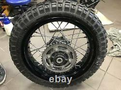 Triumph Tiger 800 XC spoked wheel pair front + rear
