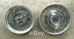 Triumph Tiger 955 2001 2006 01 06 Front & Rear Spoke Wheel Wheels Set Pair Rim
