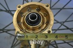 VINTAGE MOTOCROSS TALON HUB D. I. D Wheel Set Front Rear 21 18 36 SPOKES AHRMA DG