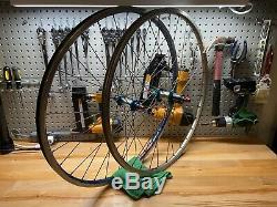Vintage Wheelset Hershey Racing Front Hub TNT Rear Hub Titanium Spokes