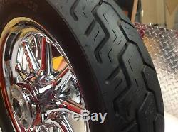 00-08 Oem Harley Touring 16 Avant / Arrière Chrome 9 A Parlé Wagon Jantes Pneus
