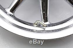 04 Harley Electra Glide Flhtcui Jeu De Jantes Pour Roue Arrière Avant 9-spoke Chrome 16