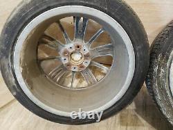 06-13 Oem Bmw E92 E93 Roues De Sport Avant Front Spider Spider Stope Style R18 Set