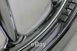08 Harley Flhtcuse3 Ultra Classic Cvo Avant Rim Roue Arrière Chrome 9 Spoke