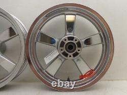 10-18 Harley Davidson Sportster Xl1200c Fat X5 Spoke Front Ree Wheel 16 Chrome