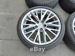 14-15 Lexus Is250 Roue 18x8 (arrière) 18x8.5 (avant) En Alliage De 20 Rayons