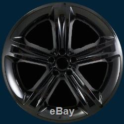15-18 Dodge Charger R / T # 2252g-b 20 5 Peaux Lustrées Noires Peaux De Roues New Set / 4