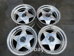15 American Racing Wheels Rims Vintage Ar234 Impala C10 Caprice Truck 5 Spoke