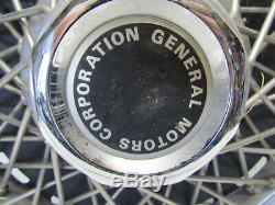 15 Fil Spoke Enjoliveur De Roue Gm Covers General Motors Jeu De 4 Rare