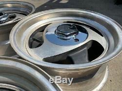 15 Jantes En Alliage D'aluminium 6 Cosses Classique American Vintage Racing
