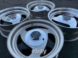 15 Vintage Wheels Rims Alloy Tri Spoke Three American Racing