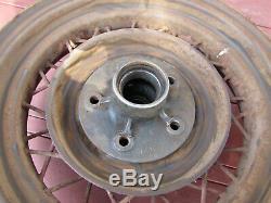 1935 Ford Jantes En Fil Métallique À 16 Rayons Et À 4 Rayons 1931 1932 Flathead A Hot Rod V8
