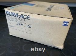 1975/7 Nos Shimano Duraace Pro Model Front/rear Hub Large Flange 24h Spoke Holes