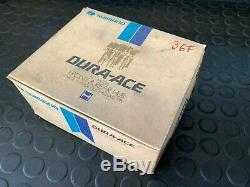 1980 Nos Shimano Dura Ace Pro Modèle Avant / Arrière Hub Grande Bride Trous 36h Spoke