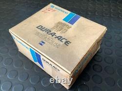 1980 Nos Shimano Dura Ace Pro Modèle Avant/arrière Hub Large Flange 32h Trous À Rayons
