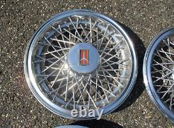 1981 À 1988 Oldsmobil Cutlass Fil Rayonné 14 Pouces Hubcaps Couvertures De Roue Agréable