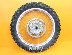 1996 90-96 Kx250 Kx 250 De Moyeu De Roue Arrière Avant Oem Set Rim Spokes Tire Rotor