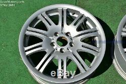 19 Bmw M3 E46 Style Usine Oem M Double Spoke 67 Roues E91 E46 E92 E90