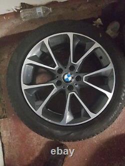 19 Bmw Wheels And Tires Style 449 X5 X6 F15 F16 E70 E71 Black Spoke