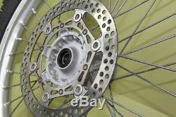 2002 02-19 Yz250 Yz125 Ensemble De Roues Arrière Excel À Rayons Pour Moyeu De Moyeu Complet Rotor