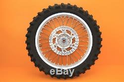 2003 03-18 Wr450f Wr250f Roue Arrière Excel Avant Set Hub Rim Spokes Tire Rotor
