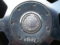 2003-2007 Cadillac Cts Ensemble De 4 Jantes 16 X 7 Oem Jantes À 7 Rayons Poli