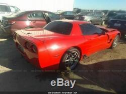 2004 C5 Corvette Z06 Set De 4 Roues 10 Spoke 17x9-1 / 2 Et Fronts 18x10-1 / 2 Arrière