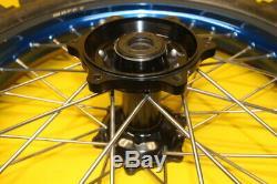 2004 Yamaha Yz250 Yz 250 Chaîne 9 Avant Roues Arrière Rim Tire Hub Spokes Set
