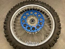2005 Oem Yamaha Yz450f Yz250f Takasago Set Front Rear Wheels Rim Tire Hub Spokes