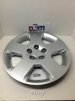 2007-2009 Saturne Aura Silver Steel 5 Spoke Wheel Cover Hub Cap Neuf Oem 9597706