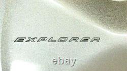 2011-2019 Ford Explorer Logo 5 Spoke 17 Couverture De Roue Silver Hub Cap Nouveau Oem