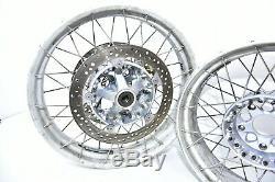 2013 -2020 Bmw R1200gs K50 K1 Avant + Arrière Spoke Rotors Roue Jantes Aventure
