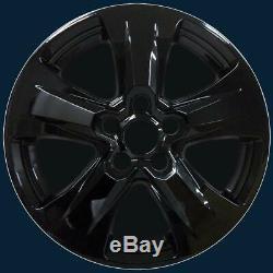 2019-2020 Toyota Rav4 Xle Modèle # 7977g-b 17 5 Spoke Noir Roue Skins Set / 4