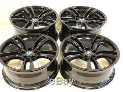 20 Oem Factory Quinconce Bmw 5 6 Et 7 Série M Double Spoke Jantes Roues Noir