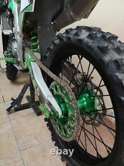 21 19 MX Wheels Rims Hubs Spokes Pour Kawasaki Kx250f Kx450f 06-18 Kx 125 250