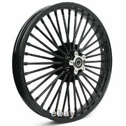 21 2.15 Avant 16 3.5 Arrière Fat Spoke Tubless Wheels Rims Set For Dyna Softail