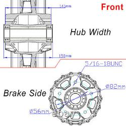 21x3.5 16x3.5 Fat Spoke Wheel Rims Set Pour Harley Touring Bagger Road King Glide