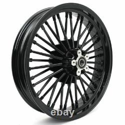 21x3.5 18x3.5 Roues Pour Harley Touring 84-07 Dyna Heritage Softail
