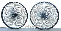 26 Arrière & Front Beach Cruiser Lowrider 140 Rayons Roues Coaster Frein Noir